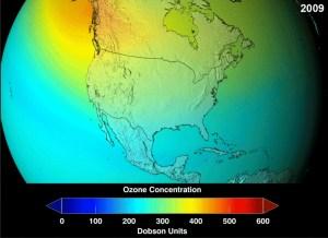 Zanimljivosti iz nauke PLANETA-Koncentracija-ozona