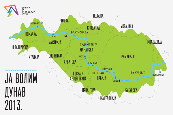 dunav srbija mapa Ја волим Дунав   ЕЛЕМЕНТАРИЈУМ dunav srbija mapa